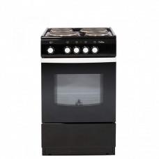 Электрическая плита De luxe 5004.12 э черная