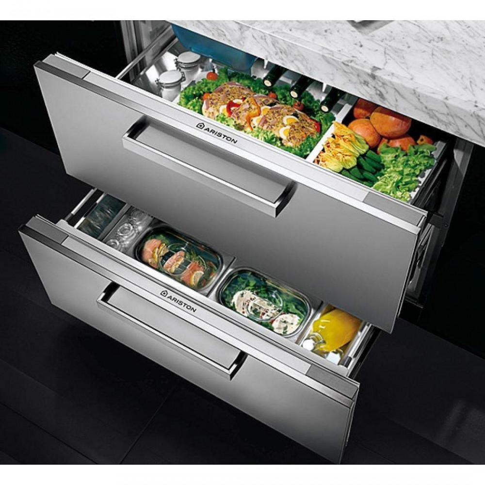 Встраиваемый двухкамерный холодильник Hotpoint-Ariston BDR 190 AAI /HA