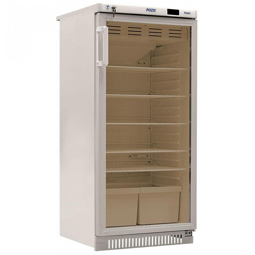 Фармацевтические холодильники Pozis ХФ-250-3 белый c тонированным стеклом