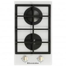Домино панель Electronicsdeluxe GG2 400215F - 002 стекло белое