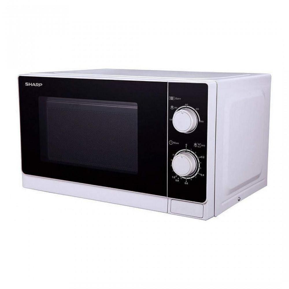 Микроволновая печь Sharp R-2000RW белый/черный