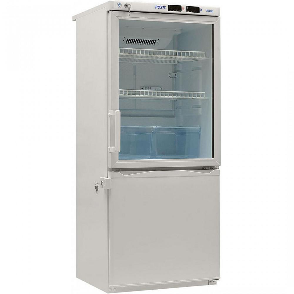 Фармацевтические холодильники Pozis ХЛ-250 белый тонир.стекло (комбинированный лабораторный)
