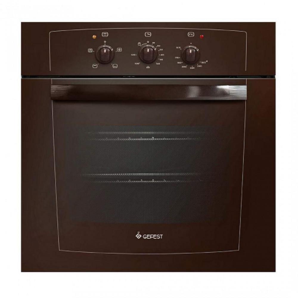 Газовый духовой шкаф Gefest ДГЭ 601-01 К коричневый
