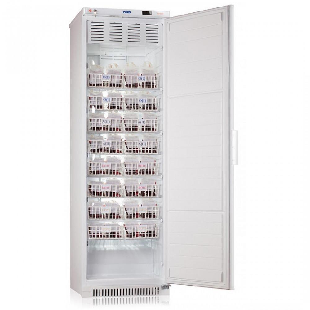 Фармацевтические холодильники Pozis ХК-400-1 белый для хранения крови