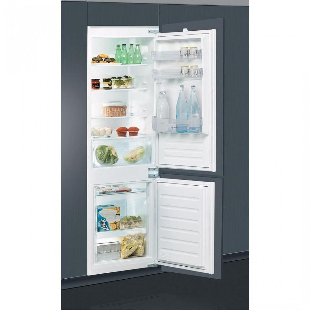 Встраиваемый двухкамерный холодильник Indesit BIN18A1DIF