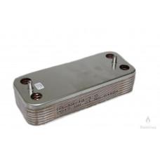 Теплообменник ГВС вторичный Beretta CITY, Super Exclusive CAI-CSI, Mynute 28 kw R8037 14 пл